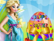 Play Pregnant Elsa Easter Egg