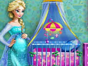 Play Pregnant Elsa Maternity Deco