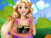 Play Pregnant Rapunzel Sushi Cravings