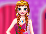 Play Princess Anna Prom Party