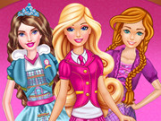 Play Princess Charm School Bffs