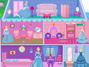 Play Princess Cinderella Doll House Decor