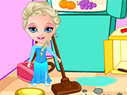 Play Princess Elsa Clean