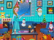 Play Princess Elsa Xmas Room Decor