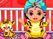 Play Princess Jasmine Baby Caring
