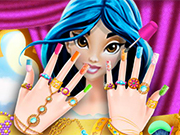 Play Princess Jasmine Nails Salon