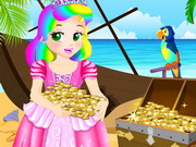 Play Princess Juliet Escapes Treasure Island