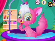 Play Princess Kitten Spa Care