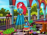 Play Princess Merida Palace Cleaning
