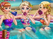 Play Princess Pool Party