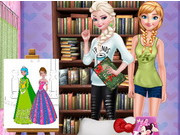 Play Princess Read And Draw