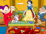 Play Princess Snow White Room Cleaning