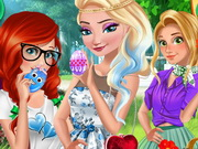 Play Princesses Easter Preparations