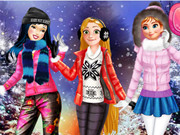 Play Princesses Winter Fun
