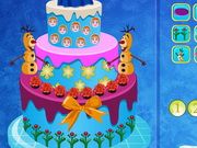 Play Queen Elsa Cake Decor