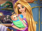 Play Rapunzel Baby Feeding