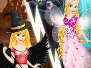 Play Rapunzel Devil And Angel Dress