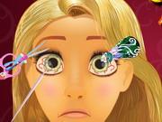 Play Rapunzel Eye Doctor