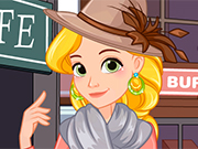 Play Rapunzel Fall Dressup