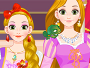 Play Rapunzel Fashion Dress Up