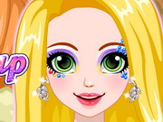 Play Rapunzel Glittery Makeup