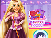 Play Rapunzel Housekeeping Day