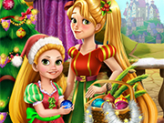 Play Rapunzel Mommy Christmas Tree