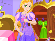 Play Rapunzel Party Clean Up