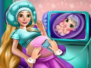 Play Rapunzel Pregnant Check Up