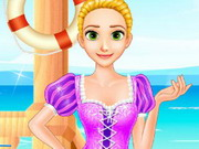 Play Rapunzel's Beach Day