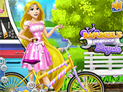 Play Rapunzel's Workshop Bicycle