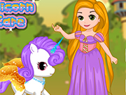 Play Rapunzel Unicorn Care