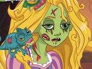 Play Rapunzel Zombie Curse