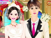 Play Selena and Justin Wedding