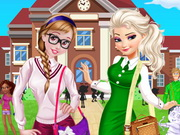 Play Sisters Go To Arendelle College