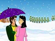 Play Snow Fall Kissing