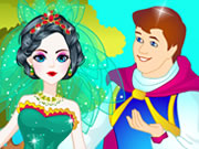 Play Snow White Wedding Dressup