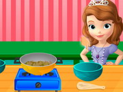 Play Sofia Cooking Vegetables