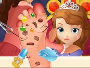 Play Sofia Foot Doctor