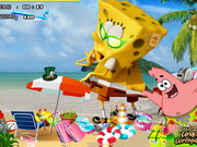 Play SpongeBob out of the water Hidden Objects