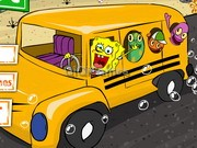 Play Spongebob's School Bus