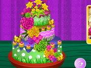 Play Spring Flower Cake