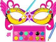 Play Super Barbie Mask Designer