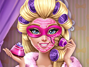 Play Super Barbie Real Makeover