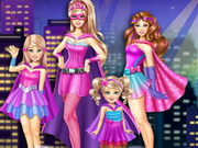 Play Super Barbie Sisters Transform