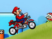 Play Super Mario Speed Bike