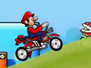 Play Super Mario Speed Bike