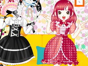Play Sweet Candy Dress Up