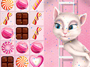 Play Talking Angela Candy Match