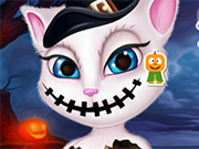 Play Talking Angela Halloween Makeover